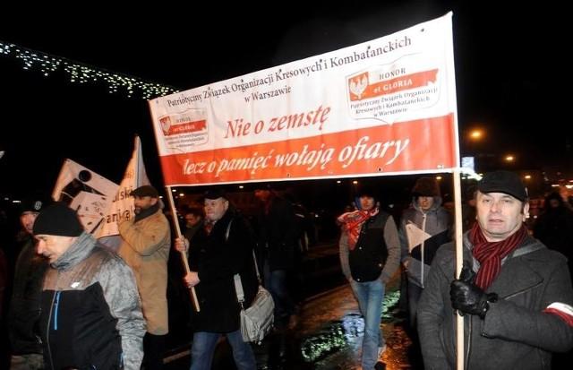 Marsz Orląt Przemyskich i Lwowskich 10 grudnia 2016 r. przeszedł ulicami Przemyśla.