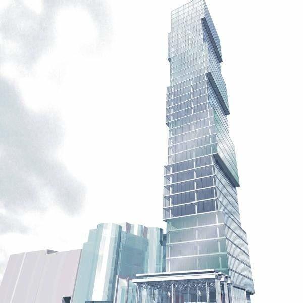 Na razie nie przesądzono czy w Opolu stanie Sky Tower, a inwestor myśli już o budowie sześciu podobnych wieżowców.