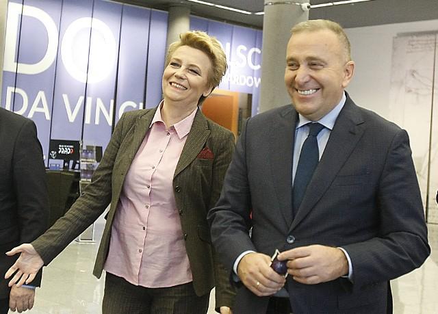 Grzegorz Schetyna chwalił przez ostatnie lata wyniki Hanny Zdanowskiej w Łodzi. Ich relacje oziębiły się, gdy narzucił lidera łódzkiej listy KO.
