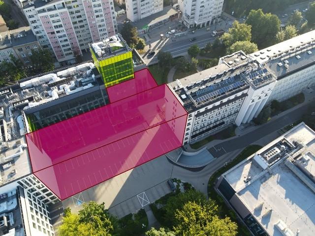 Kampus Akademii Górniczo-Hutniczej w Krakowie powiększy się o nowy budynek