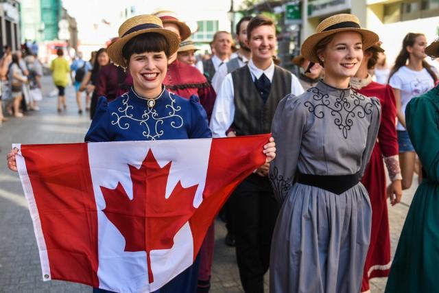 Festiwalowej publiczności najbardziej podobał się zespoł Les Pieds Legers z Kanady