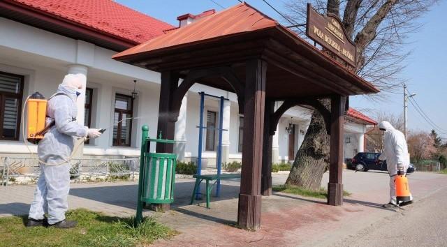 Dezynfekcja przystanków w gminie Niepołomice ruszyła 1 kwietnia
