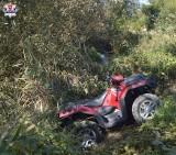 Tragiczny wypadek quada koło Biłgoraja. Na miejscu zginęły dwie osoby