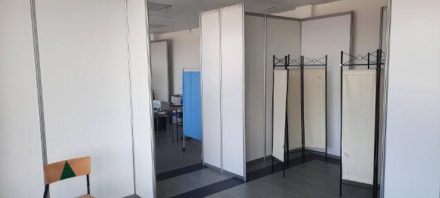 Tak wygląda Punkt Szczepień Powszechnych w Inkubatorze Przedsiębiorczości w Sępólnie Krajeńskim