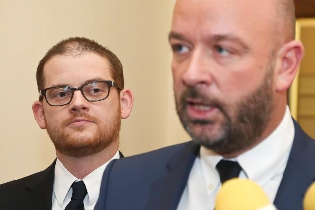 Adam Zawada i Jacek Sutryk