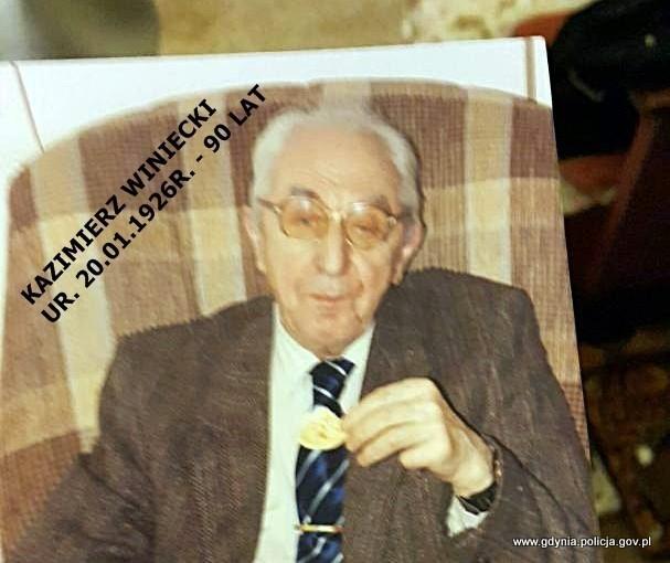 W Gdyni zaginął 90-letni Kazimierz Winiecki