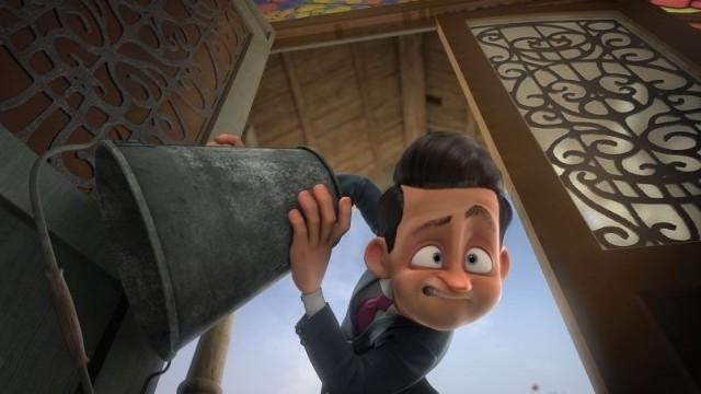 Kadr z filmu: Piorun i magiczny dom