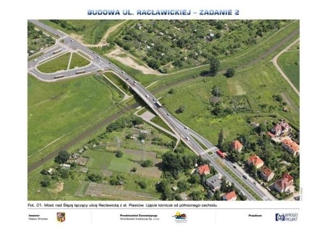 Ma powstać przedłużenie Racławickiej do al. Piastów wraz z mostem