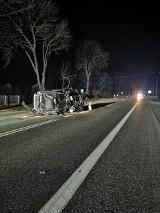 Policjanci szukają świadków wypadku w miejscowości Smogorzów