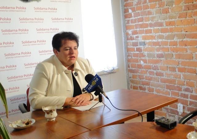 Posłanka Marzena Wróbel uważa, że uczniowie powinni mieć więcej lekcji z historii.