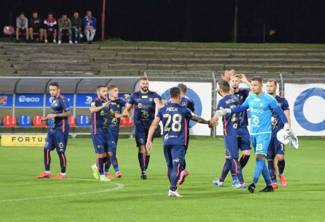 Odra Opole w dotychczasowych 16 meczach ligowych tego sezonu strzeliła 16 bramek, a straciła 19.