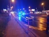 Kraków. Zderzenie radiowozu z osobówką. Policyjny wóz skasowany