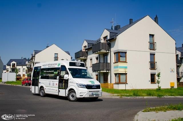 Specjalny bus będzie kursował z Osiedla Sfera na dwa przystanki. Zamówimy go przez aplikację. W okresie testowym przejazd będzie darmowy