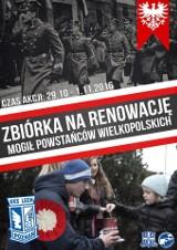 Kibice Lecha Poznań znowu będą zbierali na groby Powstańców Wielkopolskich