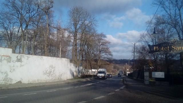 W Sandomierzu priorytetem do odśnieżania jest między innymi to ulica Zawichojska