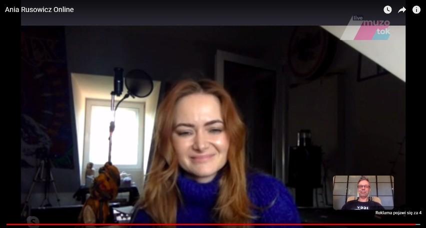Ania Rusowicz online