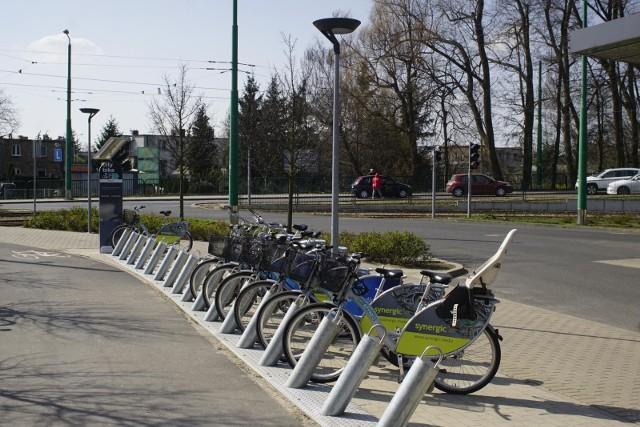 Na Sołaczu stoją dwie stacje rowerów miejskich, ale Rada Osiedla chce postawić jeszcze trzydzieści stojaków.