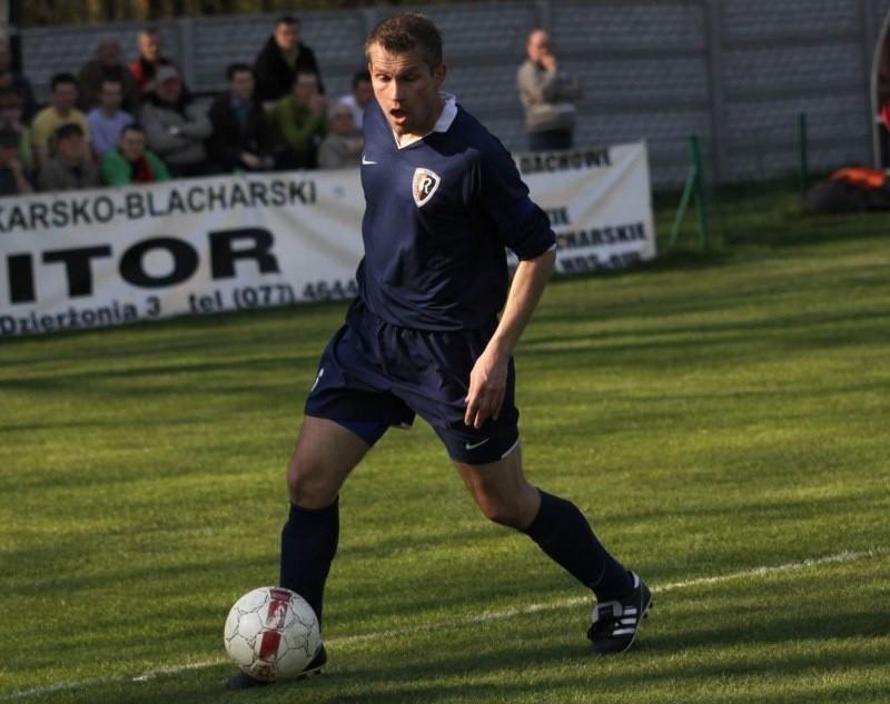 Kapitan Ruchu Mariusz Kapłon zdobył w Wągrowcu swoją trzecią bramkę w sezonie.