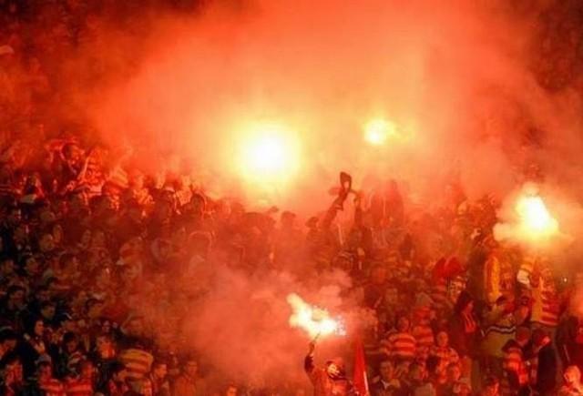 Stowarzyszenie kibiców Jagiellonii Dzieci Białegostoku często organizuje wyjazdy na mecze