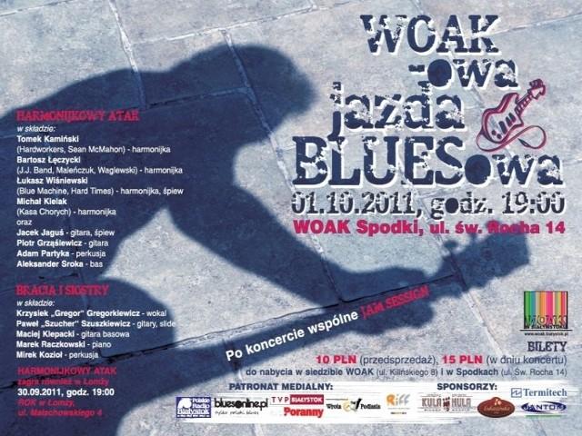 zagra w ramach WOAK-owej jazdy bluesowej