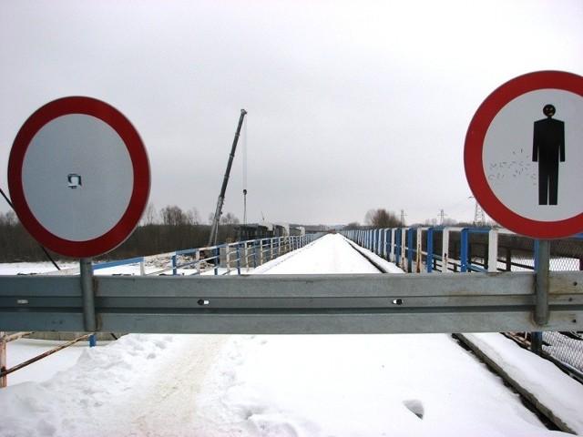 Budowa mostu na Bugu w Malkini trwa nadal