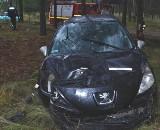 Wypadek na trasie Olpuch-Wdzydze Tucholskie