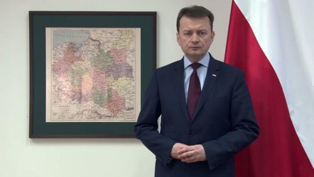 Minister MSWiA Mariusz Błaszczak: Chwała bohaterom! Chwała Żołnierzom Wyklętym!