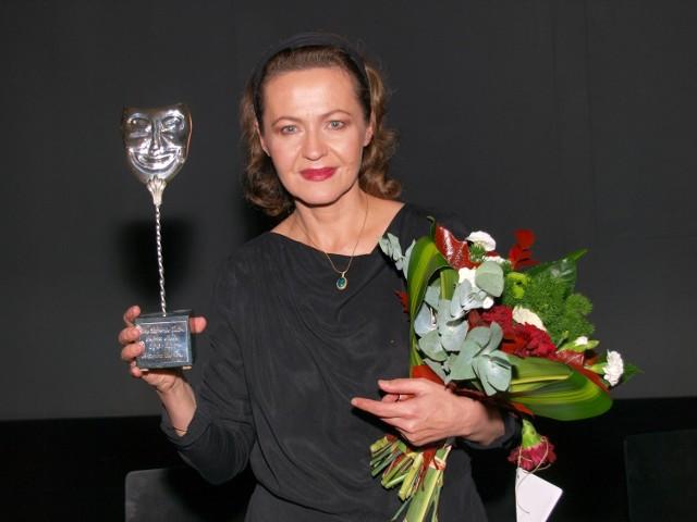 Anotonina Choroszy po raz drugi została nagrodzona Srebrną Maską
