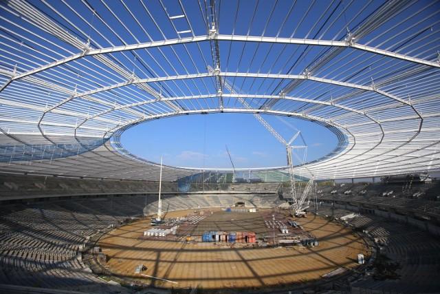 Budowa Stadionu Śląskiego