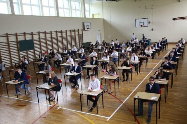 Egzamin gimnazjalny 2017 w Gimnazjum nr 34 w Łodzi