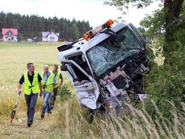 Przyczyną wielu wypadków w regionie jest uderzenie pojazdu w przydrożne drzewo. W miejscu wyciętych sadzi się nowe.