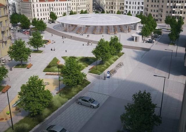 Czy po wielu latach rynek Łazarski stanie się nowoczesnym miejscem, przyjaznym mieszkańcom?