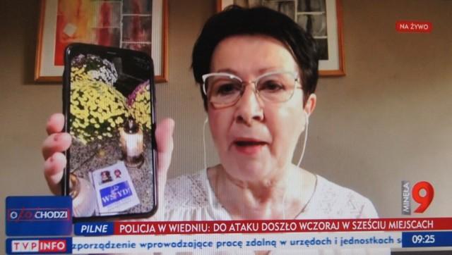 Wydarzenie oficjalnie skomentowała m. in. Magdalena Spólnicka, szefowa PO w powiecie radomszczańskim i organizatorka części protestów kobiet. Nie profanujmy miejsc, które dla innych są święte lub po prostu ważne – inaczej staniemy się jak oni. Warto być przyzwoitym - mówi. - Przypisywanie tego czynu osobom protestującym jest zdecydowanie przedwczesne. Mam nadzieję, że pani poseł Anna Milczanowska złoży doniesienie do prokuratury, a tym samym sprawca/sprawcy tego haniebnego czynu zostaną odpowiednio ukarani.Przypomnijmy, protestujący z Radomska już kilkakrotnie manifestowali przed biurem poselskim Milczanowskiej, a nawet przed jej domem. W poniedziałek w ramach ogólnopolskiego protestu kobiet odbyła się kolejna blokada miasta. Auta ruszyły z terenu Galerii Radomsko, piesi - podobnie jak przed tygodniem - zebrali się przy rondzie poło MDK. Znów mieli ze sobą plakaty i transparenty. Tym razem okrzyków nie było, słychać było jedynie głośny dźwięk klaksonów aut blokujących drogi. Po blokadzie protestujący przeszli pod biuro posłanki Pis, gdzie zostawili plakaty i zapalili znicze.