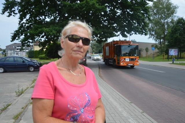 Część mieszkańców os. Śląskiego, uważa że na drodze dojazdowej przydałyby się progi zwalniające