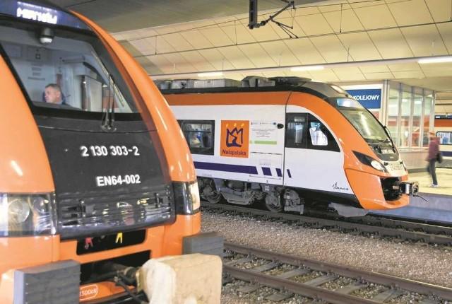 Od października Koleje Małopolskie są gotowe wozić krakowian po dużej i małej obwodnicy kolejowej