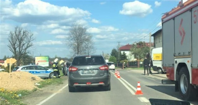 8 maj 2021. Wypadek w Polance Wielkiej