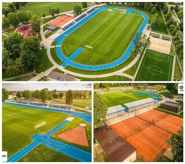 Zmodernizowany stadion w Hajnówce
