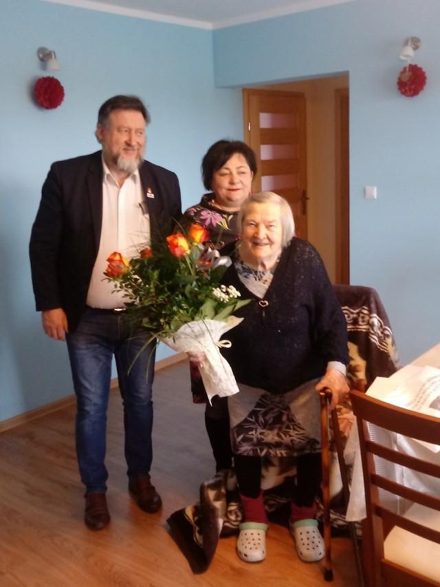 Tradycją w gminie Kowalewo Pomorskie są urodzinowe wizyty burmistrza u mieszkańców, którzy skończyli 90 lat i więcej