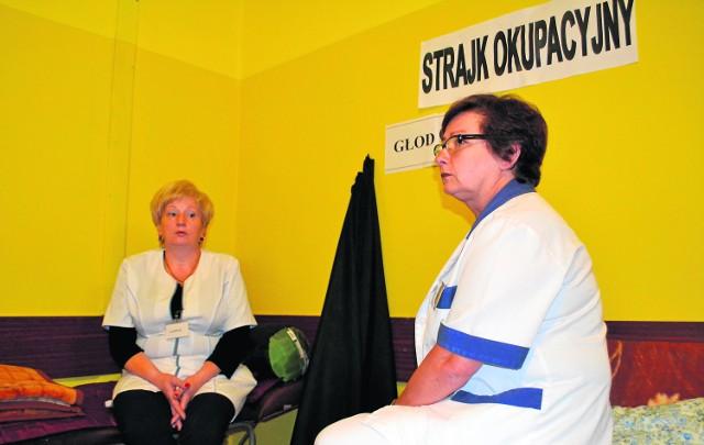 Strajk okupacyjny i głodówka przychodni Amicus w Częstochowie