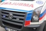 Wypadek skutera na drodze Pierzchały - Bogusze. Dwie osoby w szpitalu