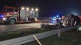 Tragiczny wypadek w Cotoniu pod Żninem. 1 osoba nie żyje, 6 jest rannych [zdjęcia]