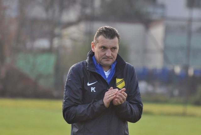 Trener Przemysław Cecherz prowadzi Wieczystą od lipca 2019 roku