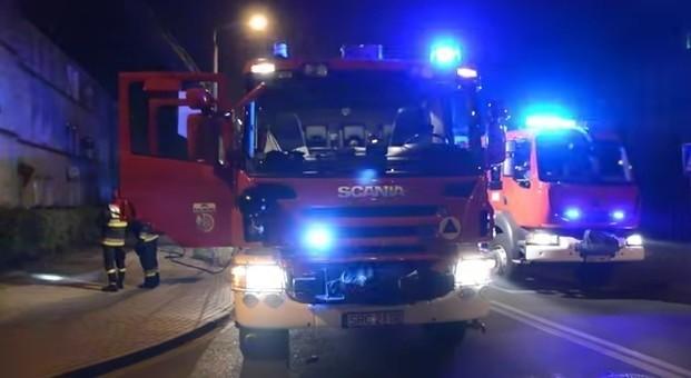 Pożar w Raciborzu