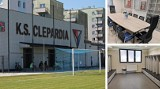 Clepardia Kraków. Zobacz stadion po remoncie. A co kryją klubowe gabloty? [ZDJĘCIA]