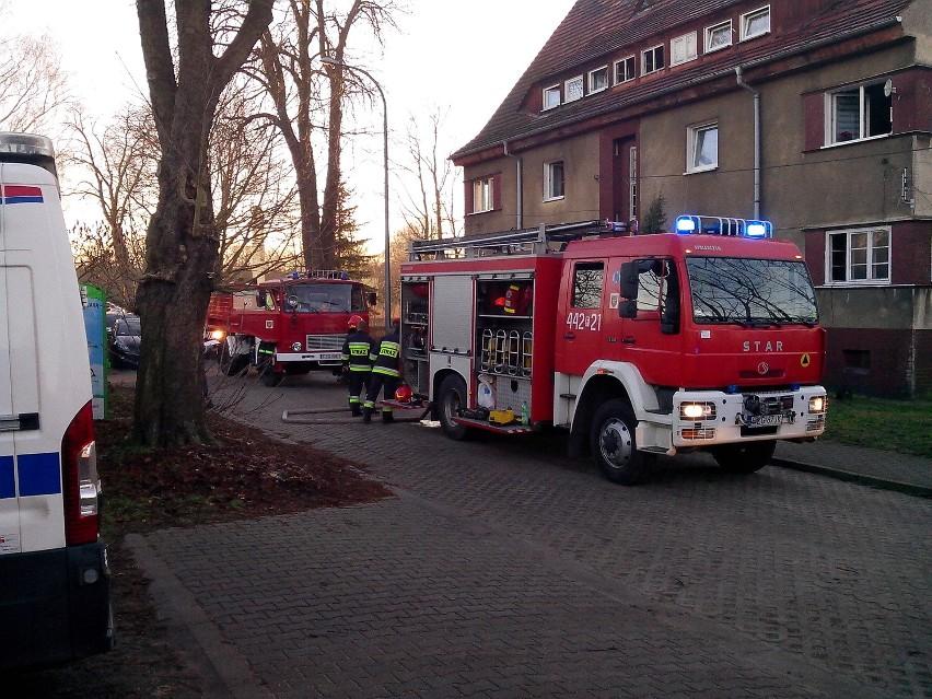Do tragicznego pożaru doszło w Szprotawie przy ul....