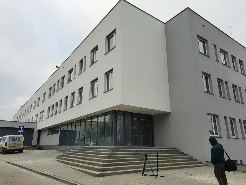 Szpital tymczasowy przy ul. Żurawiej