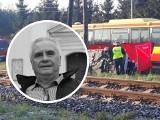Janusz Dzięcioł zginął w wypadku samochodowym na przejeździe kolejowym pod Grudziądzem [zdjęcia]