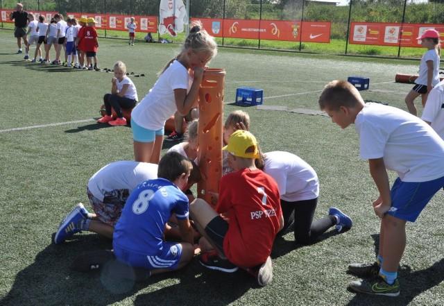 Zawodnicy rywalizowali w połączonych drużynach.