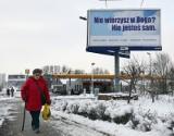 Ateistyczne billboardy pojawiły się w Szczecinie