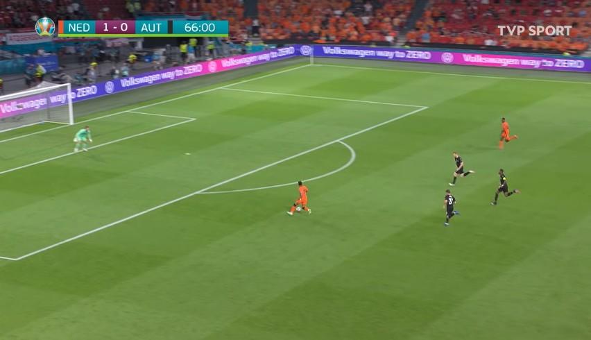 Euro 2020. Skrót meczu Holandia - Austria 2:0 [WIDEO]. Oranje grają dalej